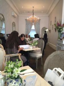 Afternoon tea at Fait Maison s Salon de th      144 Gloucester Road     Fait Maison Salon de The  Light and airy