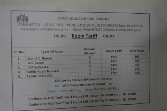 MTDC RESORT PANSHET Pune Hotel Reviews Amp Photos