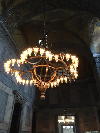 Hagia Sophia Museum Church Ayasofya Large Chandelier