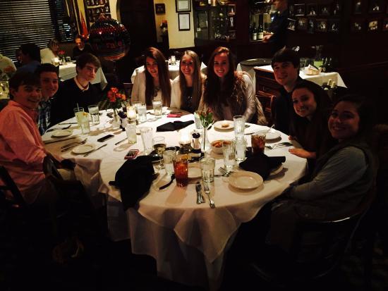 Christiana S 18th Birthday Dinner At Altobelli S Picture Of Altobeli S Italian Restaurant Piano Bar Alpharetta Tripadvisor