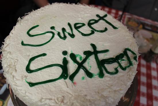 Buca S Celebration Cake Picture Of Buca Di Beppo Italian Restaurant Burnsville Tripadvisor