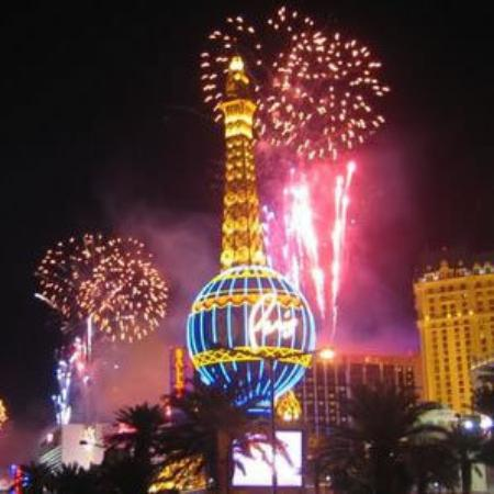 New Year s Eve on the strip in front of Polo Towers   Picture of     Polo Towers Suites  New Year s Eve on the strip in front of Polo Towers