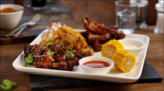 Loaded Potato Dippers The Racked N Stacked Platter And