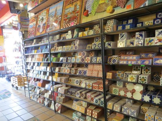 really interesting ceramics tile store