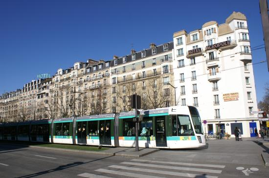 Porte d Orl    ans   tramway T3   Picture of 14th Arrondissement  Paris     14th Arrondissement  Porte d Orl    ans   tramway T3