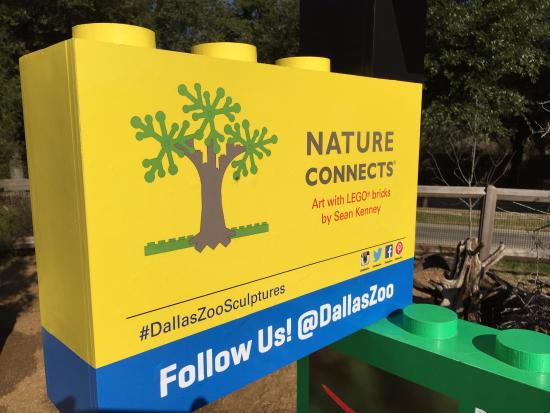 Nature Connects with Lego Bricks   Picture of Dallas Zoo  Dallas     Dallas Zoo  Nature Connects with Lego Bricks