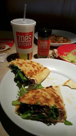 Ham Piadina Picture Of Zoes Kitchen Tulsa Tripadvisor