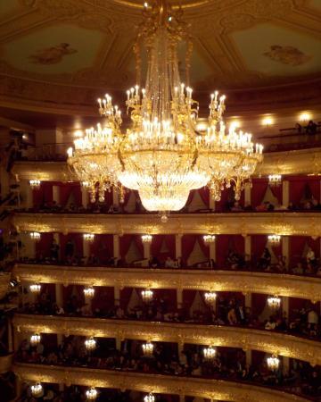 Bolshoi Theatre Enormous Chandelier