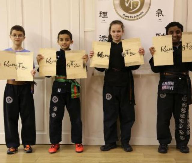 Kung Fu Schools Black Belt Board Breaking