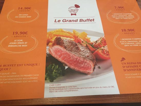 le grand buffet picture of le grand