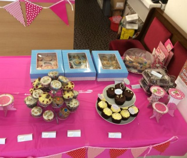 Little Black Sheep Cafe Alzheimers Charity Cupcake Event