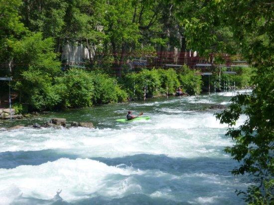 Parc Deaux Vives Pour Descente En Kayak Photo De Htel