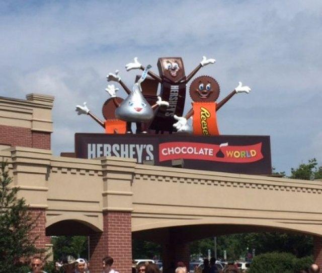 Hersheys Chocolate World Chocolate World Entrance