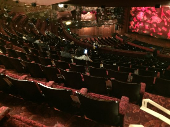 lyceum theatre box seats review