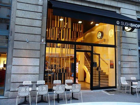sushi shop lyon 11 rue de la barre