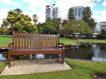 Image result for notting hill park bench