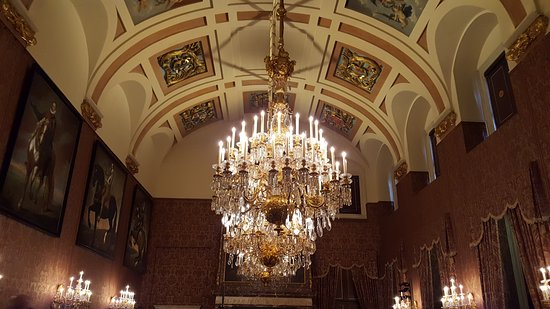 Royal Palace Amsterdam Gorgeous Chandelier
