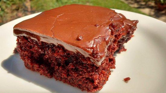 Yaya S Hand Made Chocolate Cake Picture Of Zoes Kitchen Tulsa