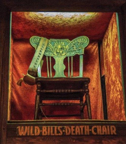 The Deadwood Social Club: Death chair