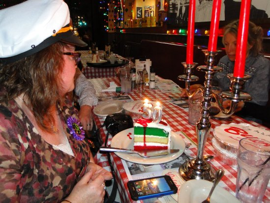 They Have Great Selections Of Desserts Birthday Cake Was Pretty Yummy Picture Of Buca Di Beppo Italian Restaurant Seattle Tripadvisor