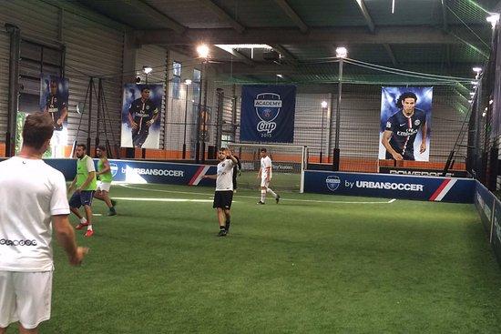 foot en salle a urbansoccer marne la