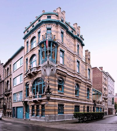 Vista del edificio: fotografía de The 5 Continents, Amberes ...
