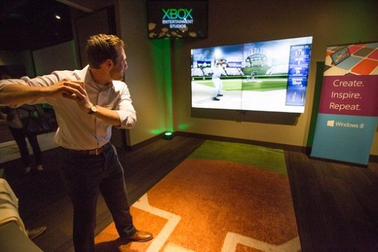Interactive Exhibits   Picture of Chicago Sports Museum  Chicago     Chicago Sports Museum  Virtual Reality Interactive Games