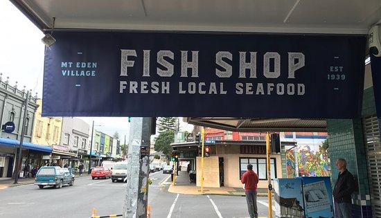 Fish Shop Jervois Road