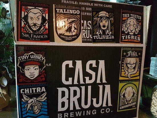 cerveza artesanal en panama - bar casa bruja tap room