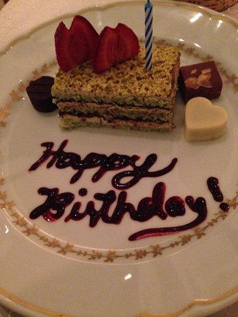 Happy Birthday Cake For Boyfriend Picture Of Champagne Room Luzon Tripadvisor