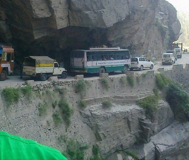 Kinnaur District India Near Jangi
