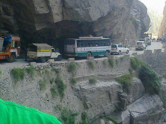 Kinnaur District India Near Jangi
