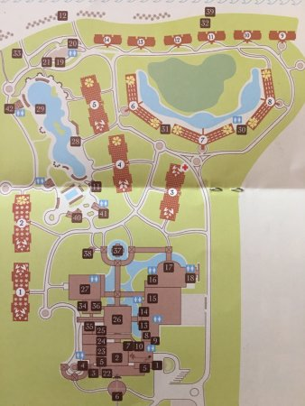 Property Map Picture Of Valentin Imperial Riviera Maya