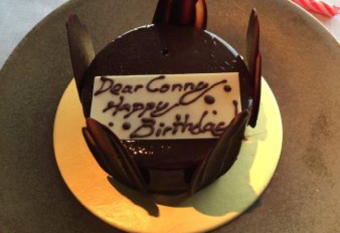 Surprise Bday Cake Picture Of Jaan Singapore Tripadvisor