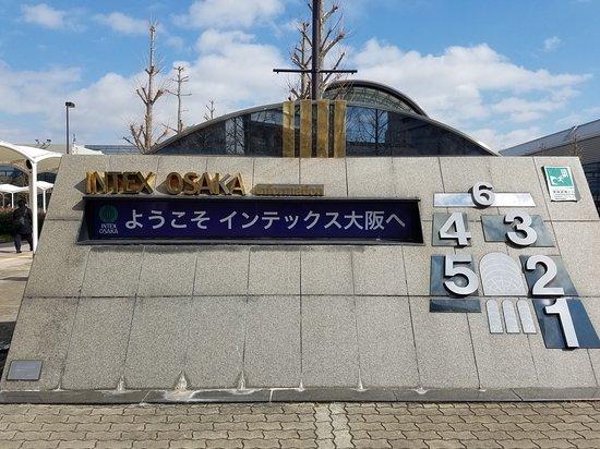 インテックス大阪, 見本市の会場