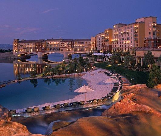 Hilton Lake Las Vegas Resort Spa Hotel Nv Event Set Up Floine Garden