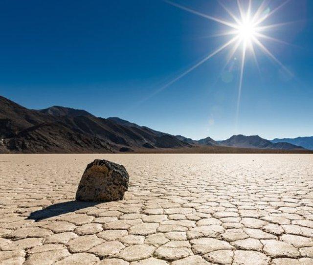 California Desert Ca Death Valley Dry Lake Bed Salt Flat