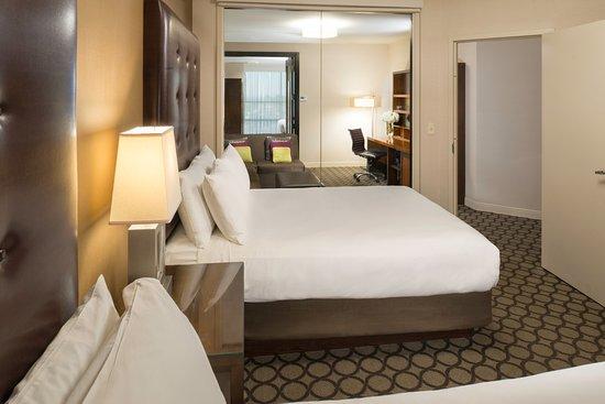 Hyatt Regency Orange County Two Bedroom King Queen Suite