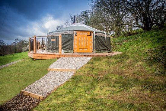 Yurt 4 Picture Of Hidden Valley Yurts Chepstow