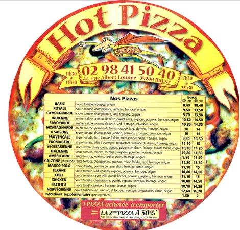 hot pizza brest tripadvisor