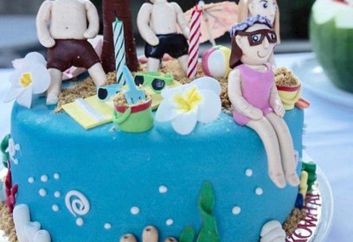 Personalised Bday Cake Picture Of Beecup Sanur Tripadvisor