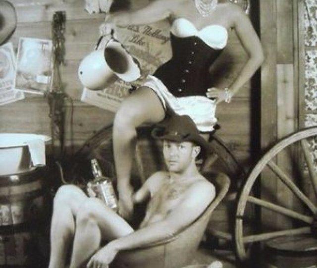 Woodys Wild West Inc Old Timey Bath House Set Up