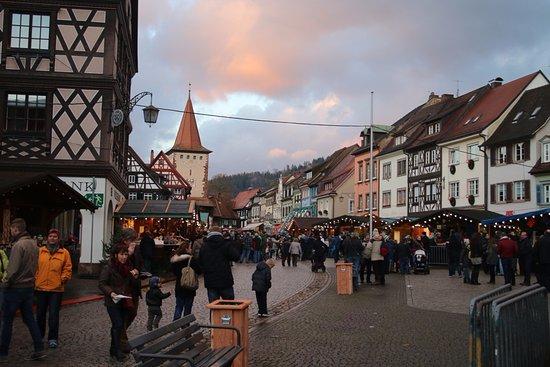 historische altstadt gegenbach marche de noel vielle ville
