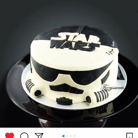 Birthday Cake Star Wars Theme For Kingston Bild Von Passion Restaurant Bakery Phuket Tripadvisor
