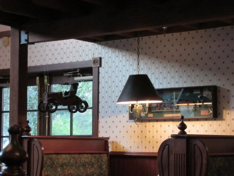 Quirky interior theming   Picture of Spike   Rail Steakhouse  Selma     Spike   Rail Steakhouse  Quirky interior theming