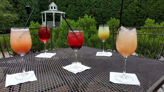 Sunday Brunch Mimosas On The Patio!
