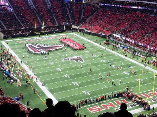 Image result for Mercedes-Benz Stadium, Atlanta