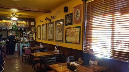 Interior wall   Picture of Longhorn Restaurant  Tombstone   TripAdvisor Longhorn Restaurant  Interior wall