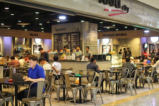 Myanmar Plaza - food court - Picture of Myanmar Plaza Shopping ...