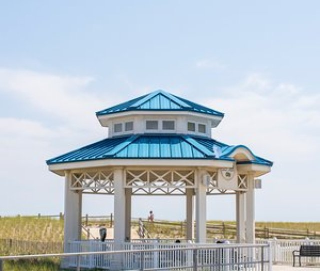 Sea Isle City Promenade Sea Isle City Gazebo On The Promenade